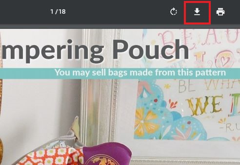 How to Download your Pattern Sewing Patterns by Mrs H
