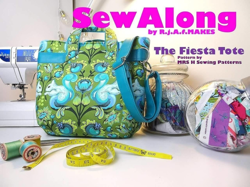 Mrs H Fiesta Tote Sew Along by R.j.A.f. Makes