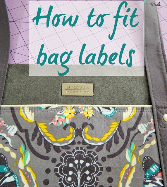 How to fit bag labels